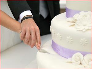 Свадебный торт для молодожен на заказ