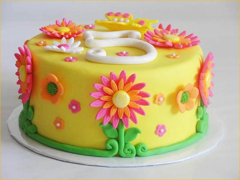 Яркий тортик на день рождения ребенку 5 лет